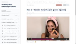 curso maquilhagem online plataforma