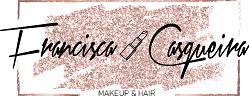 logotipo francisca casqueira maquilhadora profissional
